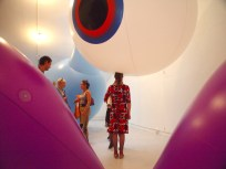 i am too big for this town - BLANK Gallery installation view, CiCi Blumstein 2008.