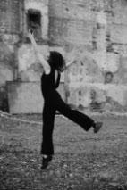 CiCi Blumstein dancing Makeshift Body in derelict space, Brighton. Photos: Christopher Hornzee-Jones