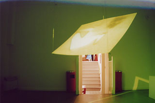 Cytomotion: Makeshift Body. CiCi Blumstein 2003 - installation view, AVIT Audio Visual Festival 2003.