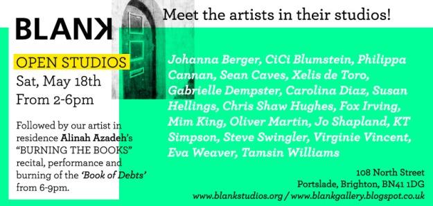 BLANK Open Studios 2013